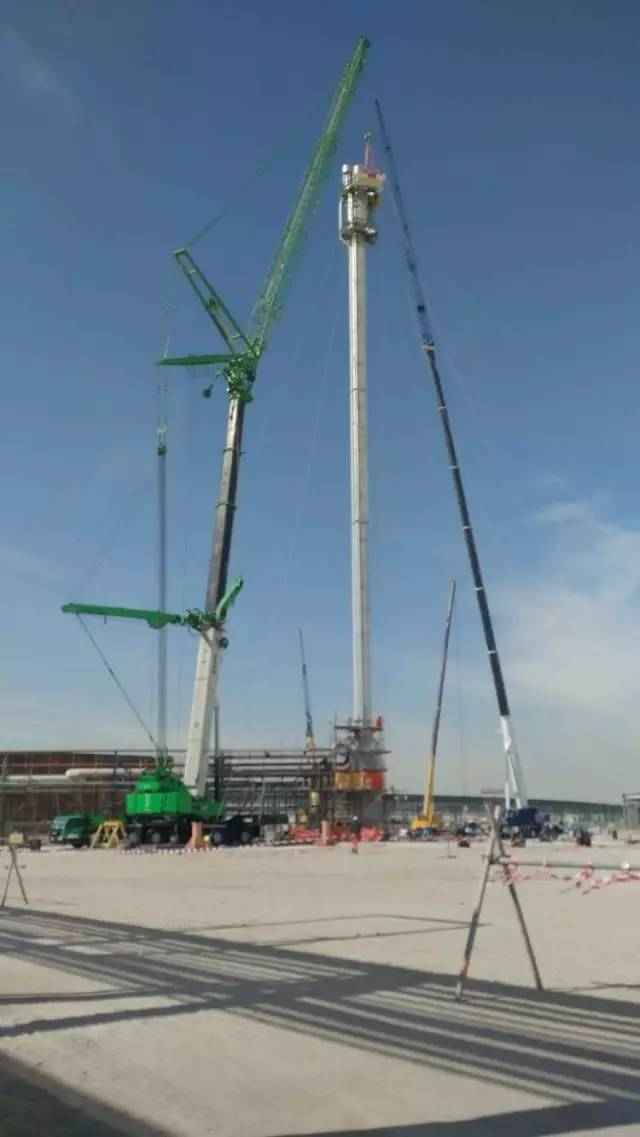 Sany SYT160 tower crane in the Middle East