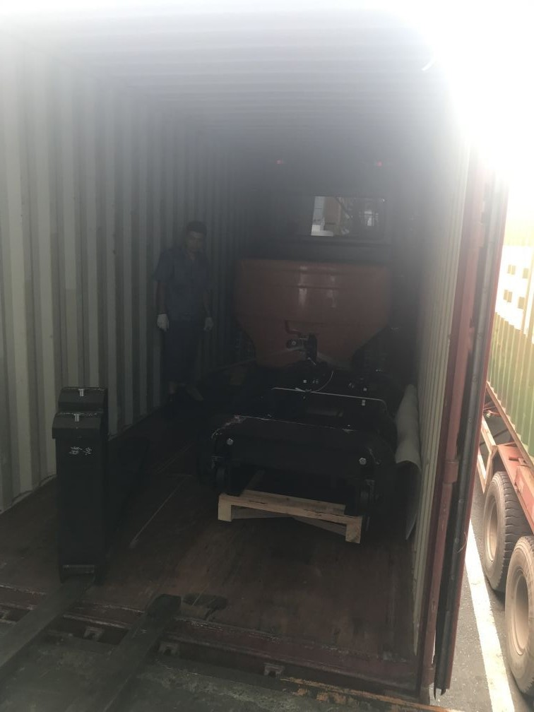 Container Transport FOTMA Forklift to Poland